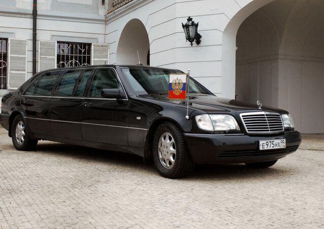 President Vladimir Putin's car