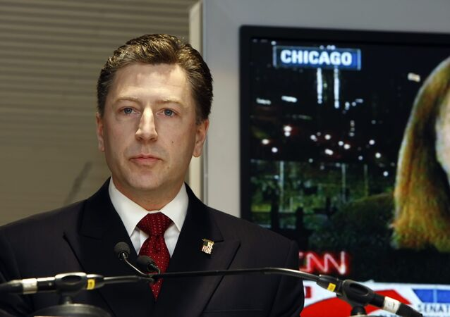 US Special Representative for Ukraine Negotiations Kurt Volker