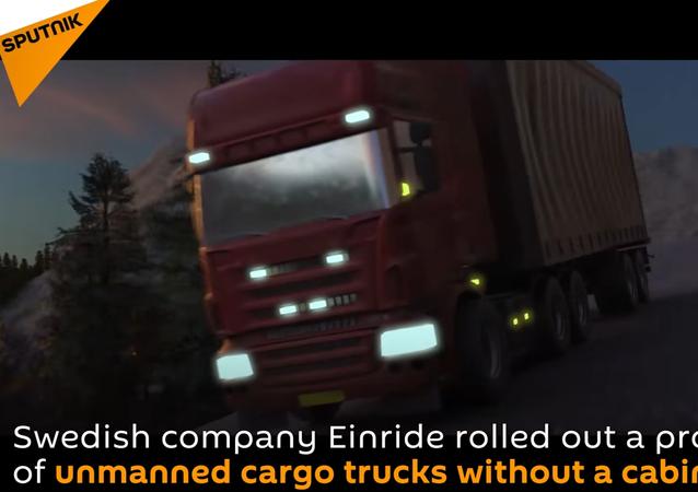 Sweden's Unmanned Cargo Trucks