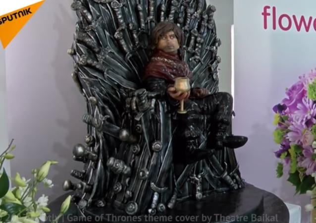 32 Kg Game of Thrones Cake Made in Dubai