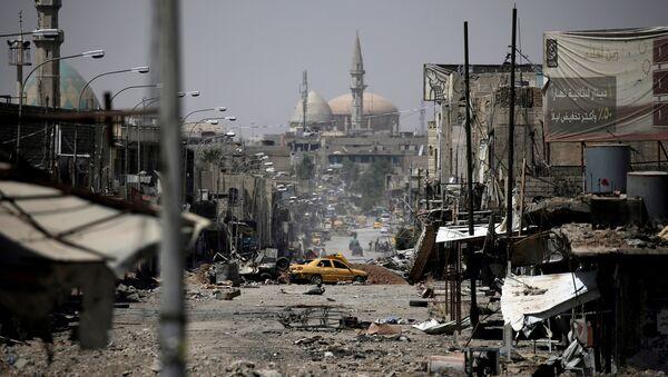 A view of a part of western Mosul, Iraq, May 29, 2017 - Sputnik International