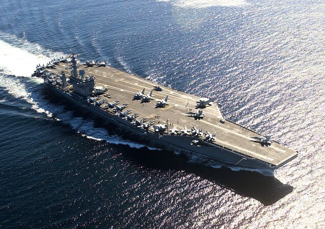 USS Nimitz (CVN-68), a US Navy aircraft carrier