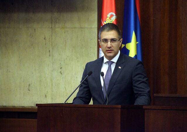 Nebojsa Stefanovic in Parliament of Vojvodina (File)