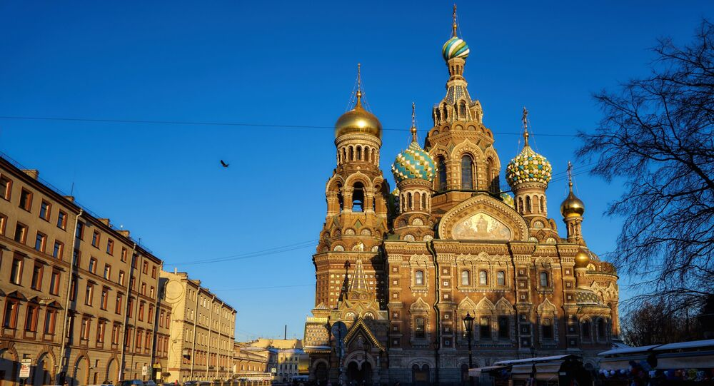 Church of the Savior on Spilled Blood in St. Petersburg named one of the world's most beautiful churches