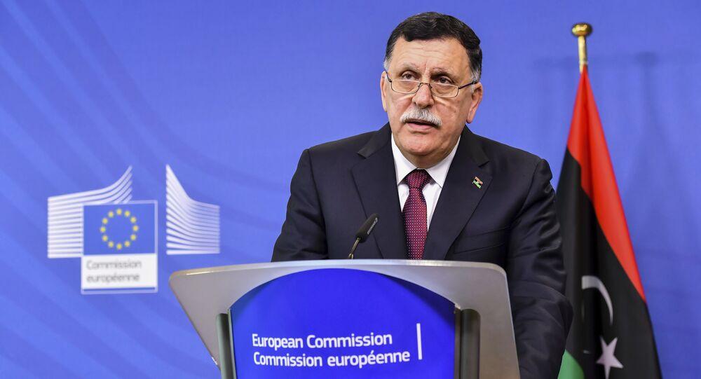 Libya's Prime Minister Fayez al-Sarraj (File)
