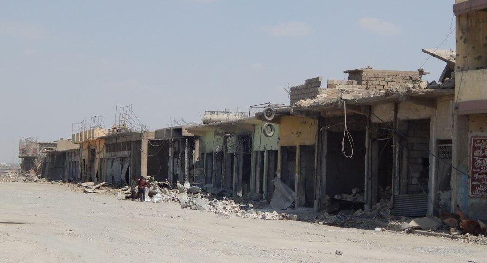 The devastation of Mosul