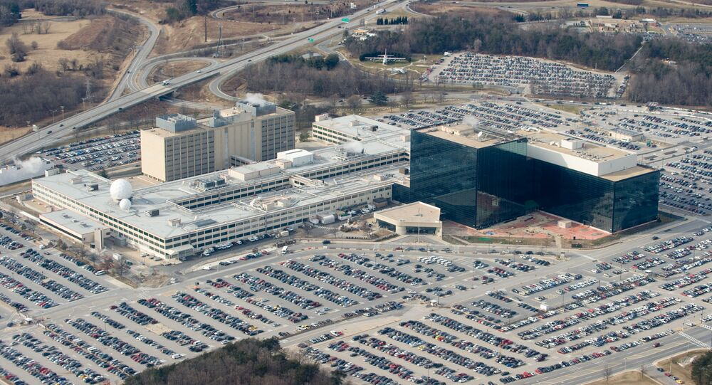 National Security Agency (NSA) headquarters in Fort Meade, Maryland.