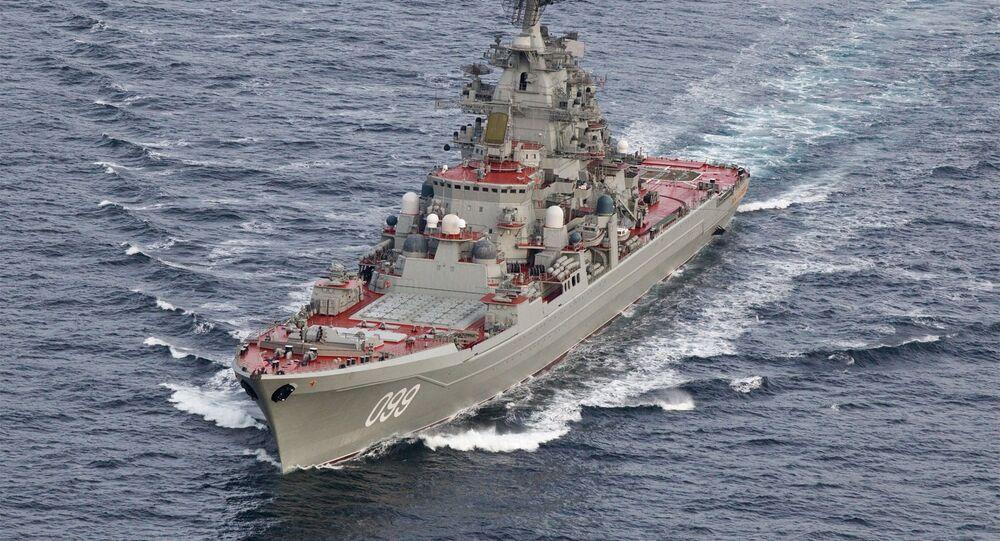 Battlecruiser Pyotr Velikiy