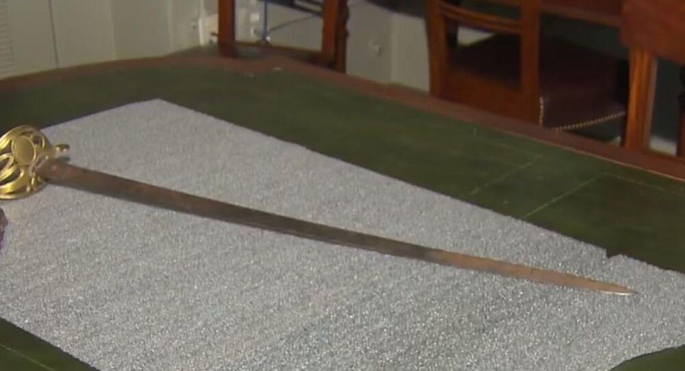 Sword belonging to Robert Gould Shaw