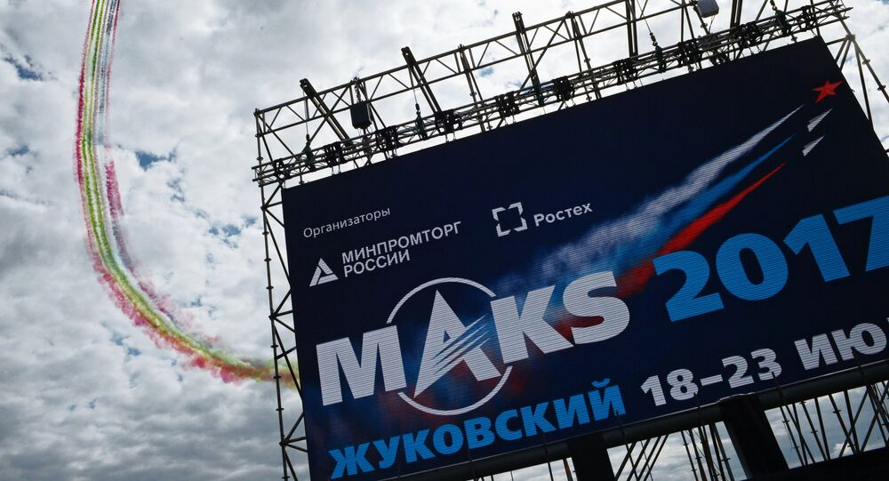International Aviation and Space Salon MAKS-2017. Day two