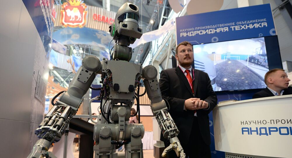 FEDOR (Final Experimental Demonstration Object Research) antropomorphic robot