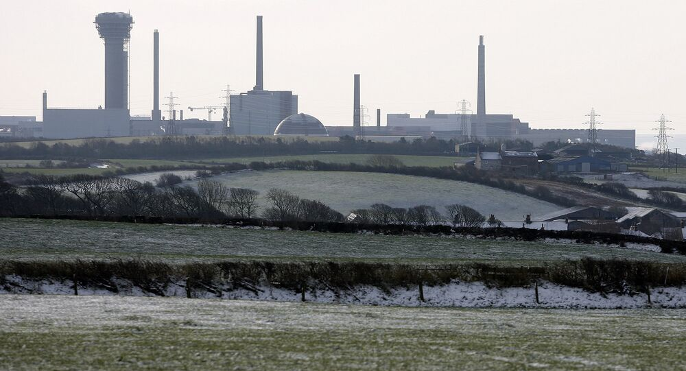 A general view of the Sellafield nuclear power plant in Seascale, northern England, Monday, Feb. 2, 2009.