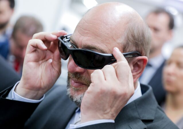 Martin Schulz, leader of Germany's Social Democrat Party (SPD)