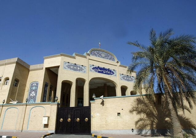 The Iranian embassy in the capital Kuwait city (File)