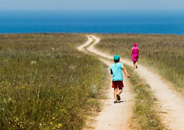 Tarkhankut Nature Park in Crimea