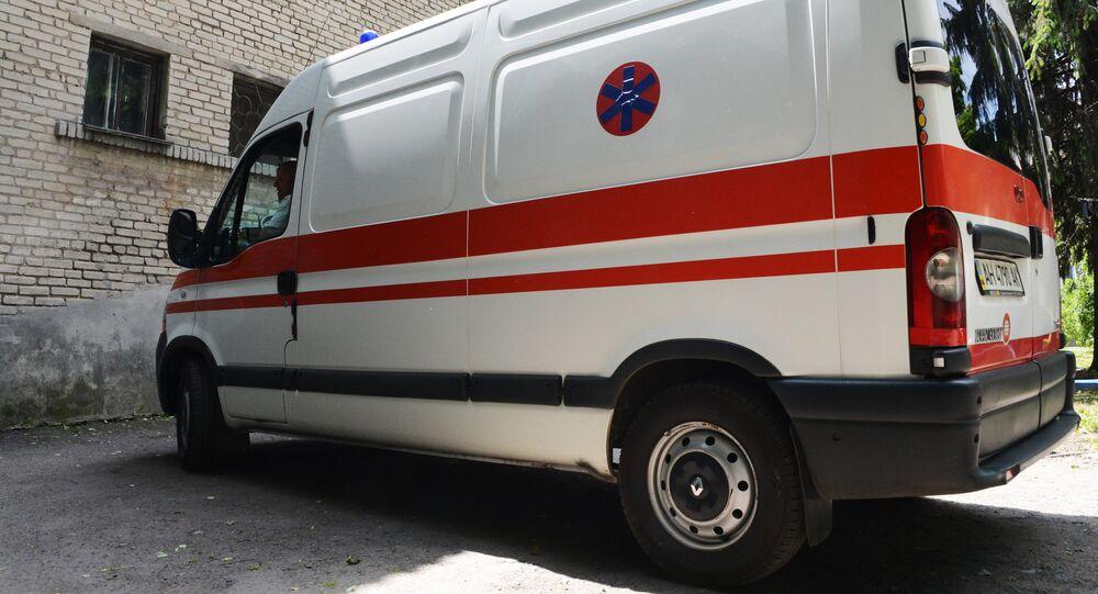Ukrainian ambulance
