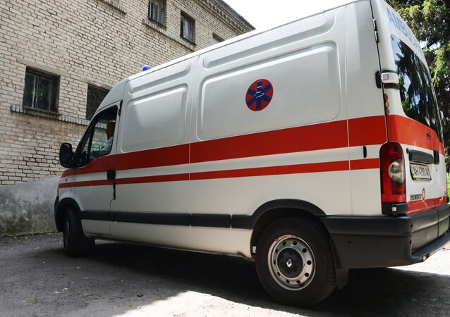 Ukrainian ambulance