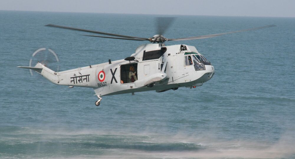 UH 3H of Indian Navy