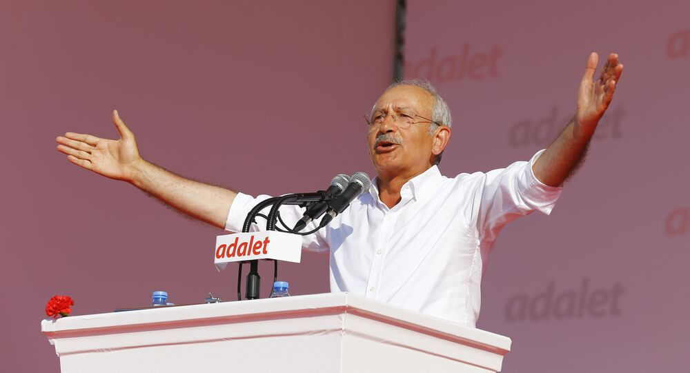 Kemal Kilicdaroglu, leader of Turkish main opposition Republican People's Party