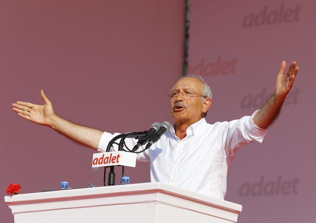 Kemal Kilicdaroglu, leader of Turkish main opposition Republican People's Party