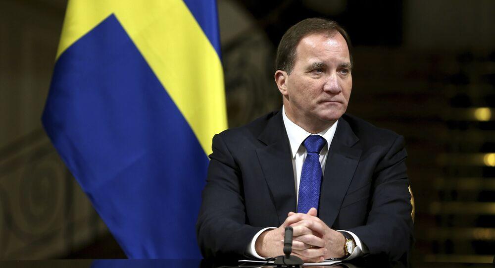 Swedish Prime Minister Stefan Lofven