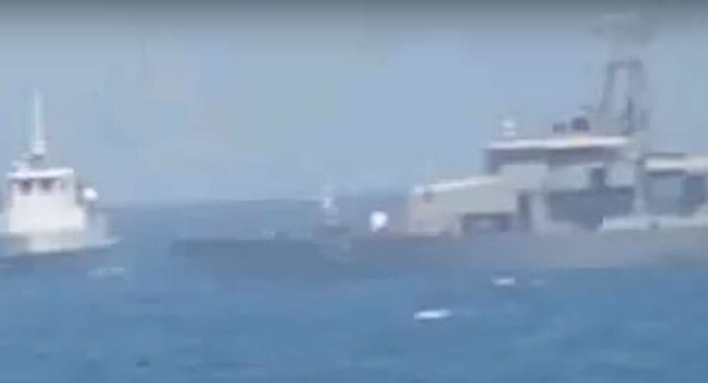 Iranian Vessel Intercepts US patrol boat