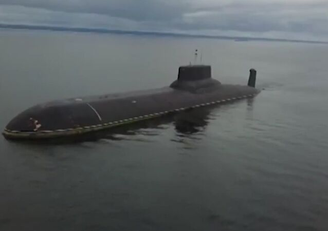 Russia's Largest Nuclear Submarine Arrives In Kronstadt