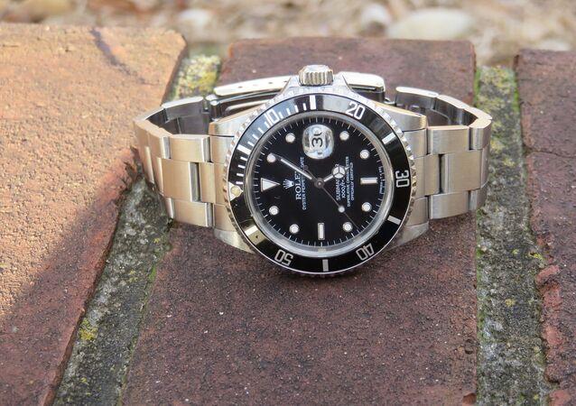 A Rolex watch