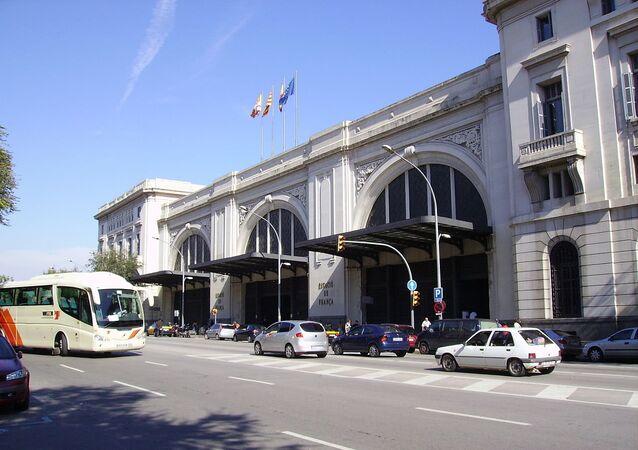 Barcelona França railway station