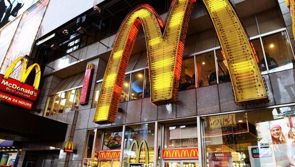 McDonald's fast food restaurant. (File) - Sputnik International