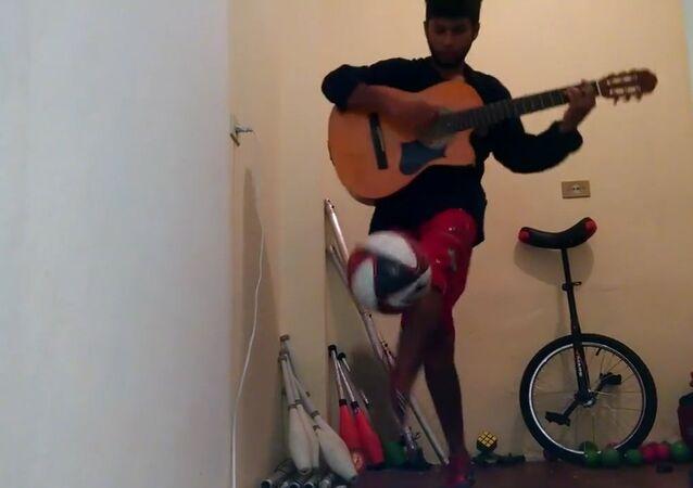 Multitasking Musician
