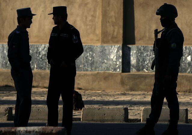 Afghan National police. (File)