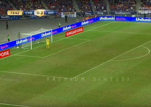 AUTOGOL KONDOGBIA Chelsea-Inter 1-2 - ICC 29/07/2017 HD