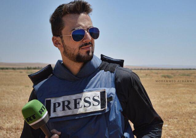 RT reporter Khaled G. AlKhateb