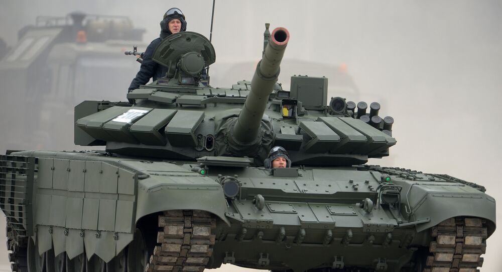 Russia's T-72B3 tank