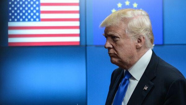 US President Donald Trump meets with EU leaders in Brussels - Sputnik International