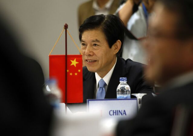 Chinese Trade Minister Zhong Shan (File)