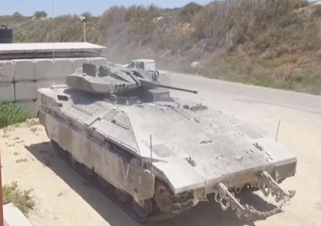 IDF Namer armored personnel carrier (APC)