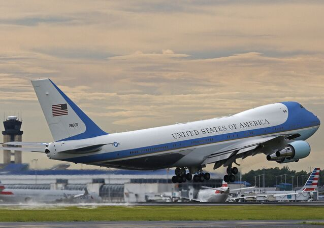 File Photo of Air Force One