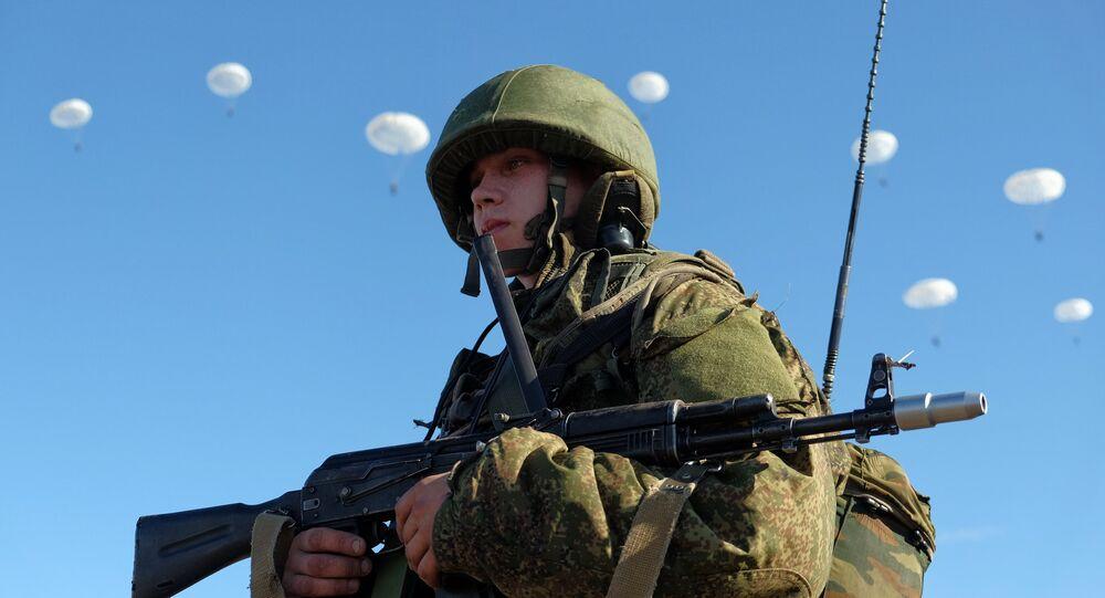 Airborne Forces drill in Ulyanovsk Region