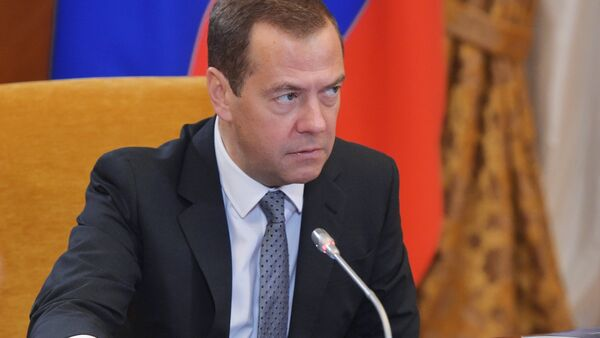 Prime Minister Dmitry Medvedev at Skolkovo Foundation Board of Trustees meeting - Sputnik International