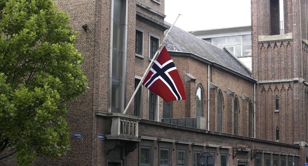 Norwegian flag. (File)