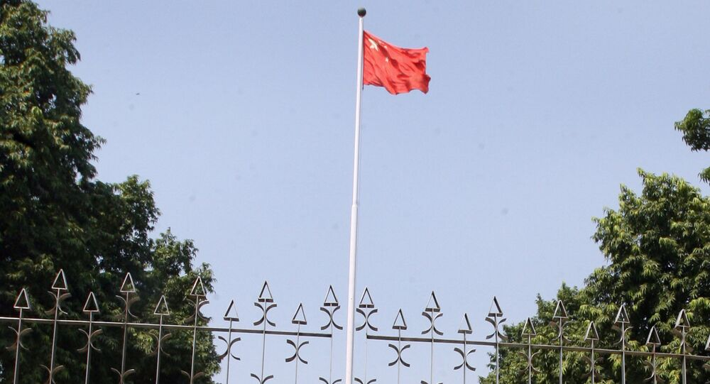 Chinese Embassy in New Delhi. (File)
