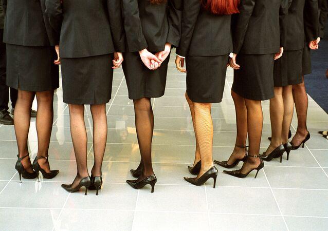 Stewardesses. (File)