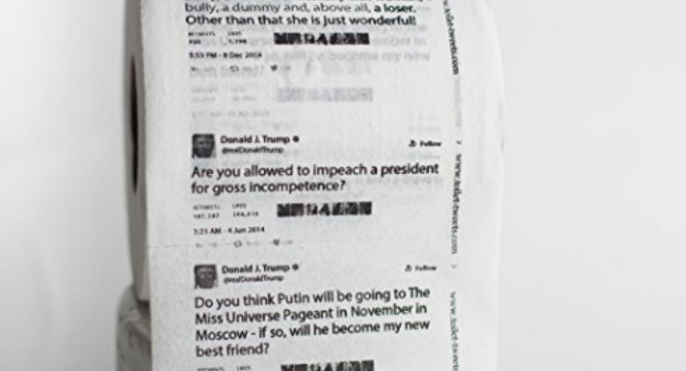 Amazon Sells Toilet Paper With Trump Tweets