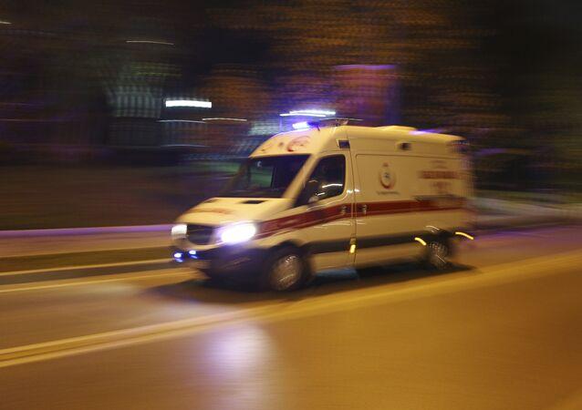 Turkey ambulance. (File)