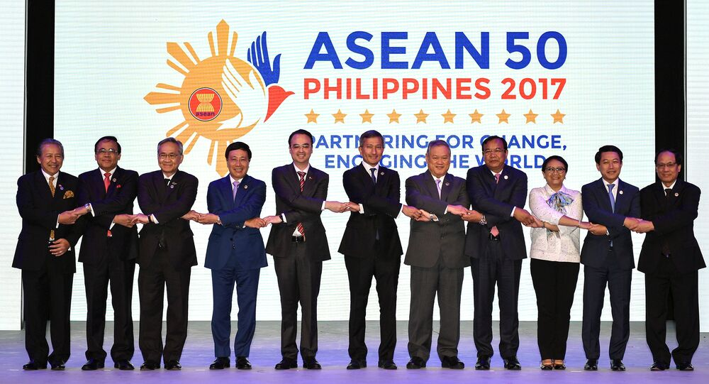 Opening ceremony of the 50th Association of Southeast Asian Nations (ASEAN) Regional Forum