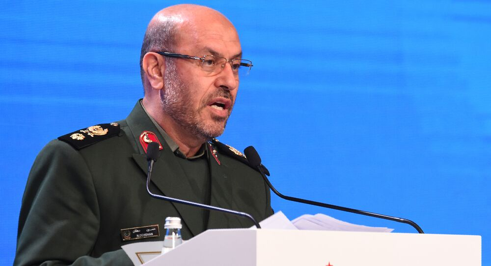 Iranian Defence Minister Hossein Dehghan. (File)
