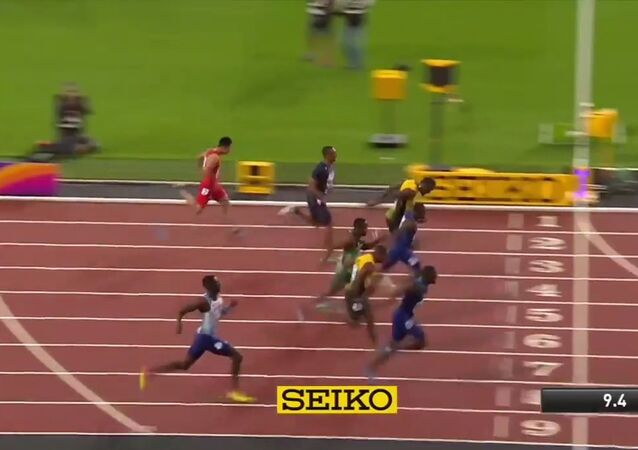 Gatlin wins 100m as Bolt finishes third caused a major upset