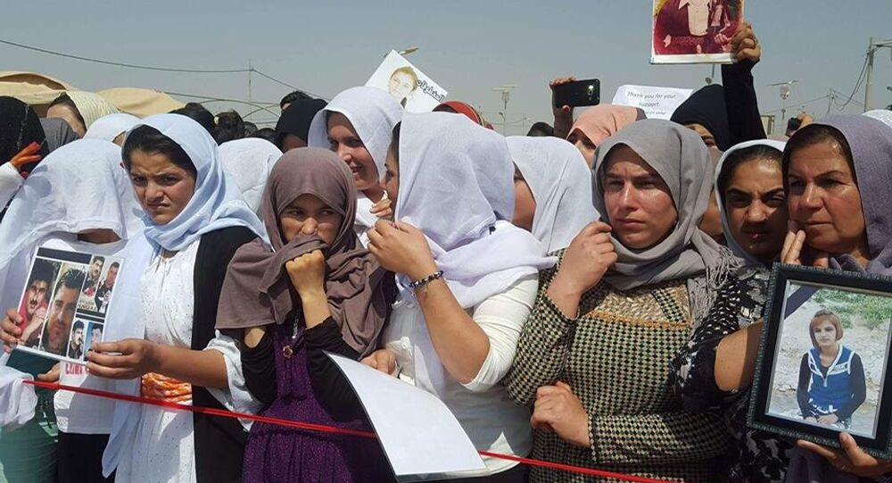 Day of Grief for Yezidi people